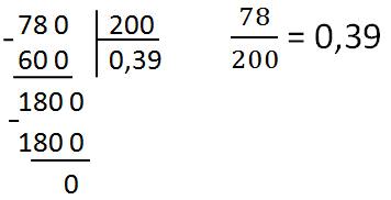Как сделать из обыкновенной дроби в десятичную 896
