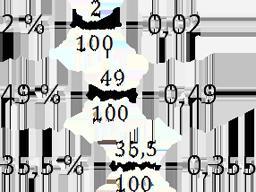 перевод процента в десятичную дробь