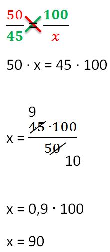 Как решать пропорции